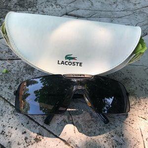Lacoste LA 12424 Sunglasses with White/Green Case
